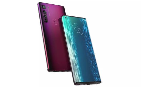 """Motorola trở lại """"cuộc đua"""" cao cấp với mẫu smartphone màn hình cong Edge+"""
