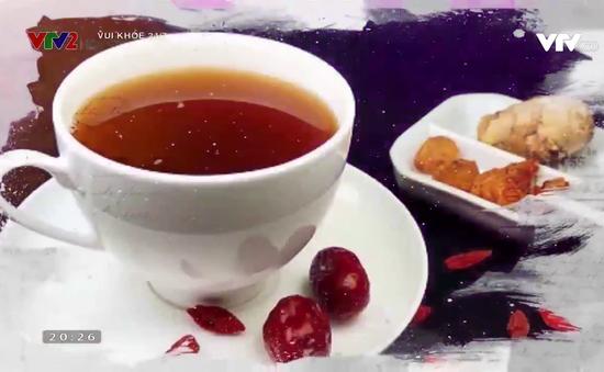 Cách làm trà gừng táo đỏ giúp tinh thần thư thái cả ngày