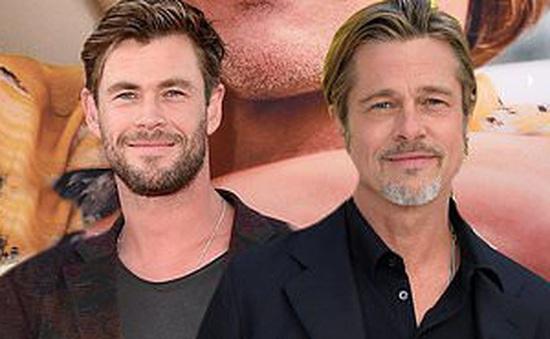 Gặp được Brad Pitt, sao phim Thần sấm Thor thấy may mắn vì không bị bảo vệ ngăn cản