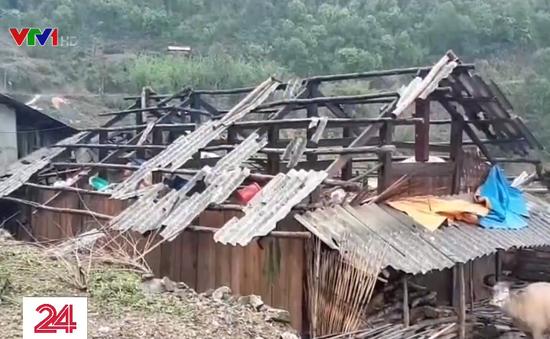 Lai Châu: Mưa đá kèm gió lốc làm 2 người thiệt mạng, 1 người mất tích