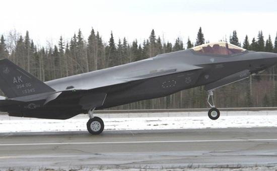 Mỹ triển khai máy bay F-35 sát cửa ngõ Nga