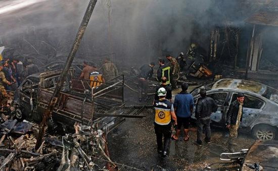 Đánh bom xe chở dầu tại Syria, gần 100 người thương vong