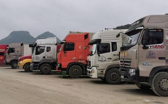 Dừng thông quan hàng hóa xuất nhập khẩu tại một số cửa khẩu ở Lạng Sơn