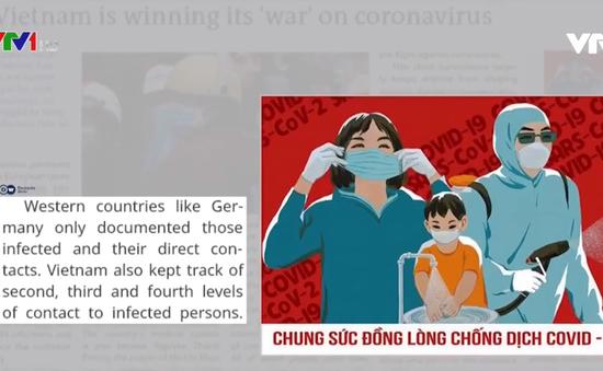 Báo chí châu Âu đánh giá cao các biện pháp phòng chống COVID-19 của Việt Nam