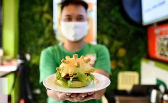Burger Corona truyền cảm hứng chống dịch