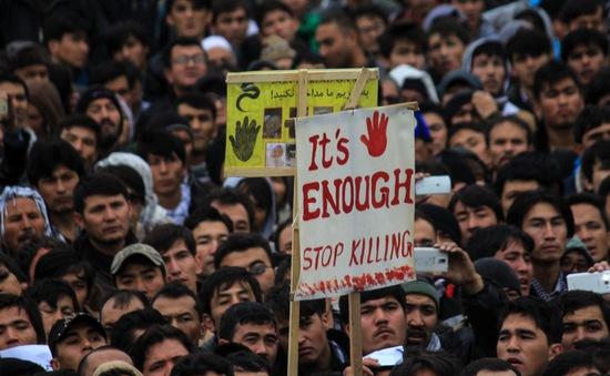 Biểu tình biến thành bạo lực tại Afghanistan, 7 người thiệt mạng
