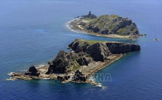Nhật Bản phản đối tàu Trung Quốc xâm phạm lãnh hải