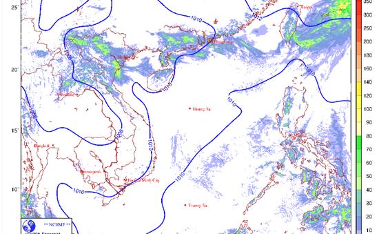 Ngày 12/5, mưa dông trên diện rộng ở Bắc Bộ và Bắc Trung Bộ, Hà Nội có mưa rất to