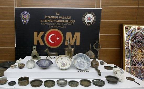 Thổ Nhĩ Kỳ thu giữ nhiều cổ vật quý cách đây hàng thế kỷ