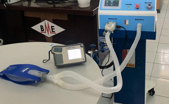 Đại học Bách khoa Hà Nội chế tạo máy thở hỗ trợ điều trị COVID-19