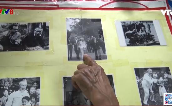 Người Cựu chiến binh đam mê sưu tầm ảnh Bác Hồ