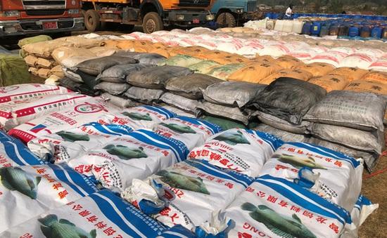 Myanmar thu giữ lượng ma túy tổng hợp lớn nhất Đông Nam Á