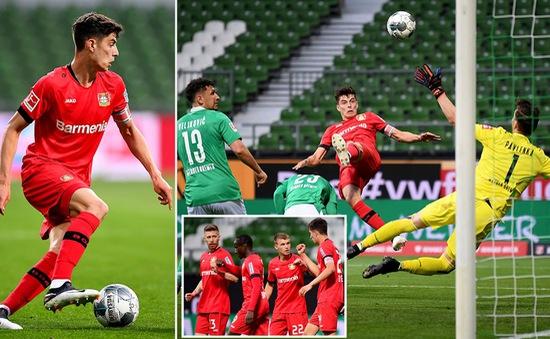 """Sao trẻ Bundesliga tỏa sáng, cả châu Âu """"phát sốt"""""""