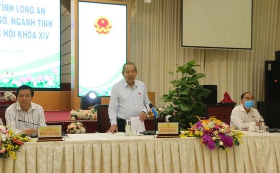 PTTg Trương Hòa Bình đánh giá cao Long An trong chỉ đạo, điều hành, triển khai nhiệm vụ