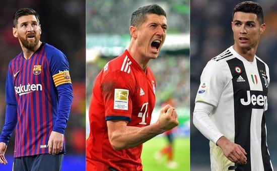 Top 10 cầu thủ săn bàn đáng sợ nhất châu Âu 2019/20