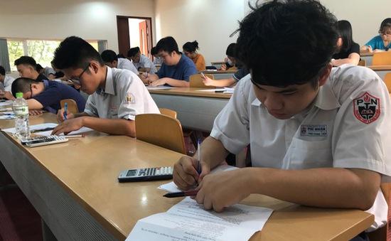 Gần 70.000 thí sinh dự thi đánh giá năng lực đợt 1 của ĐHQG TP Hồ Chí Minh