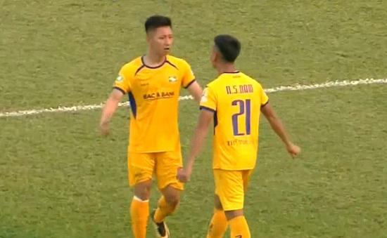 Sông Lam Nghệ An 1-0 CLB Bình Định: Sỹ Nam lập công, SLNA tiến vào vòng 1/8 Cúp Quốc gia 2020