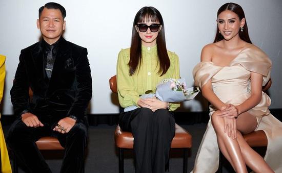 """Hoa hậu Hương Giang, siêu mẫu Võ Hoàng Yến ngồi ghế nóng """"Nhà thiết kế tương lai nhí"""""""