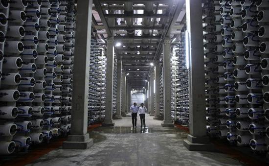 Nhà máy khử mặn lớn nhất thế giới sắp được xây dựng