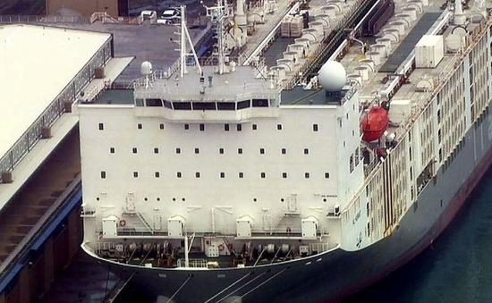 Phát hiện ổ dịch COVID-19 trên tàu chở hàng tại Australia