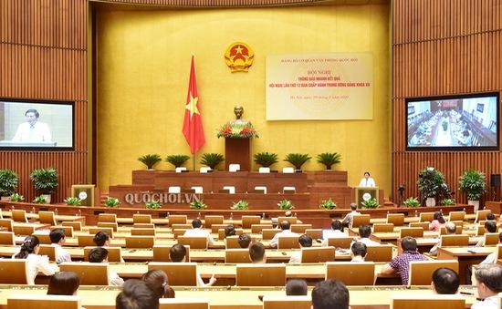 Hơn 73% đại biểu Quốc hội đề nghị duy trì tổ chức một kỳ họp chia hai đợt