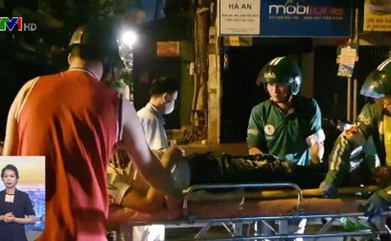 Đội xe ôm công nghệ cứu người gặp tai nạn giao thông