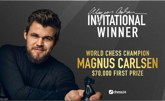 """Giải cờ vua Magnus Carlsen Invitational 2020: """"Vua cờ"""" giành chức vô địch"""