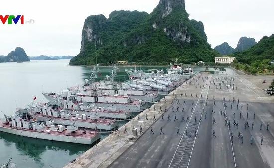 Hải quân Việt Nam tiếp nối truyền thống dám đánh, quyết đánh, biết đánh thắng