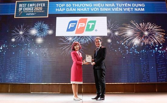 FPT và VNG dẫn đầu Top Thương hiệu Nhà tuyển dụng hấp dẫn nhất trong lĩnh vực CNTT