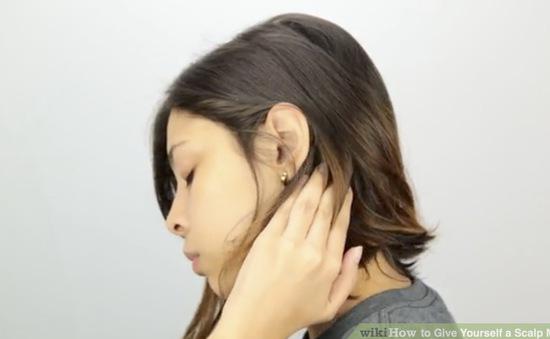 Xả stress tức thì với các phương pháp massage da đầu từ chuyên gia