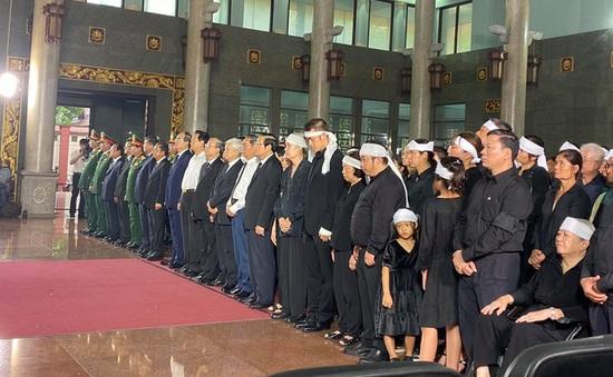 Lãnh đạo Đảng, Nhà nước viếng đồng chí Trần Quốc Hương