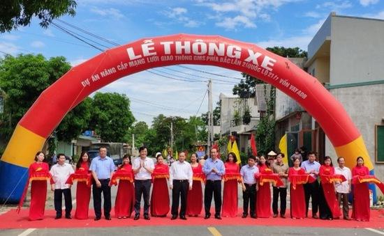 Thông xe tuyến quốc lộ 217B, rút ngắn thời gian thông thương sang Lào