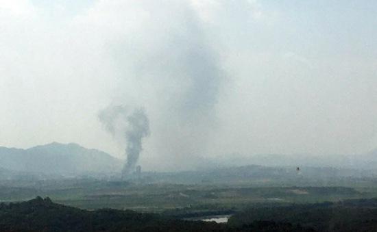 Nóng: Văn phòng liên lạc chung liên Triều đã bị phá hủy hoàn toàn