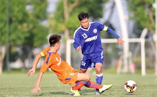 VCK U19 QG 2020: U19 Công An Nhân Dân thắng 1-0 B. Bình Dương, SLNA 1-0 HAGL II