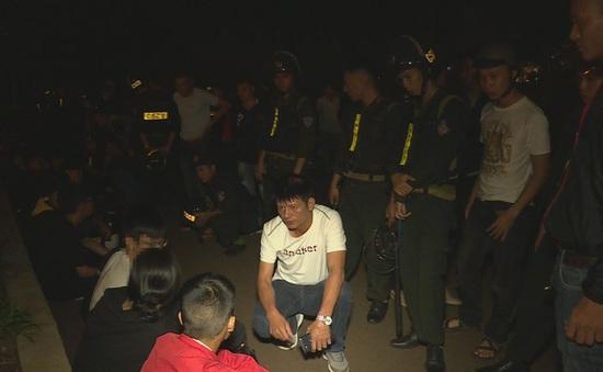 Ngăn chặn 30 thanh, thiếu niên và học sinh tụ tập đua xe trái phép