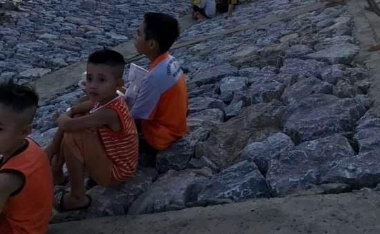 Đã tìm thấy thi thể 2 học sinh bị đuối nước ở huyện Thanh Hà, Hải Dương
