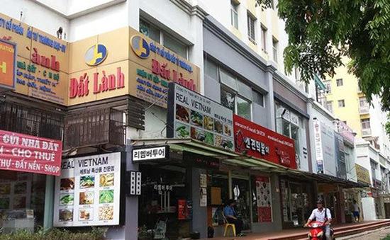 """Hà Nội cấm """"xẻ thịt"""" tầng 1 nhà tái định cư cho thuê kinh doanh"""