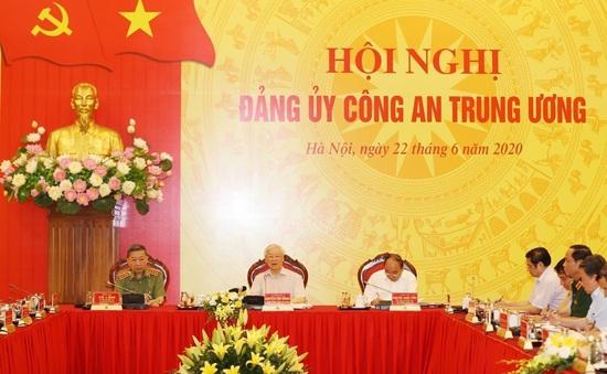 Tổng Bí thư, Chủ tịch nước dự, chỉ đạo hội nghị Đảng uỷ Công an Trung ương