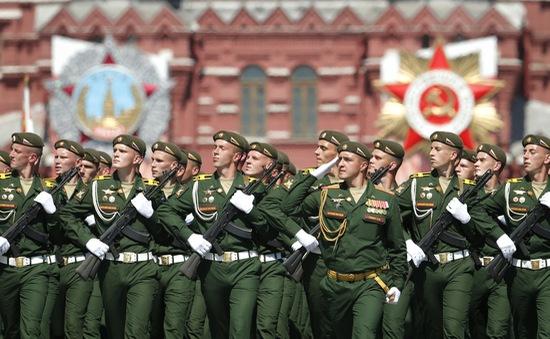 Toàn cảnh Lễ duyệt binh kỷ niệm Ngày Chiến thắng tại Nga