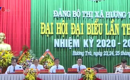 Đại hội Đảng bộ thị xã Hương Trà, tỉnh Thừa Thiên - Huế