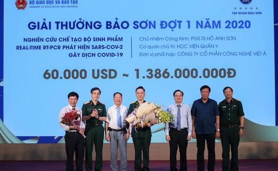Bộ test COVID-19 giành giải thưởng 60.000 USD