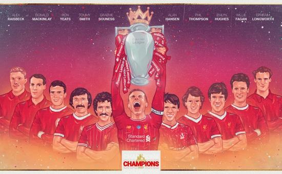 Vô địch Ngoại hạng Anh sau 30 năm, Liverpool tạo ra những kỷ lục vô tiền khoáng hậu