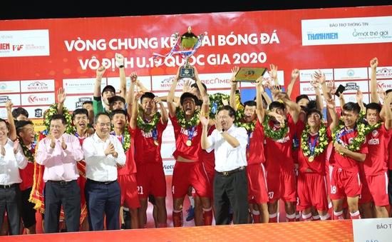 VCK U19 Quốc gia 2020: Thắng HAGL I, U19 PVF vô địch xứng đáng!