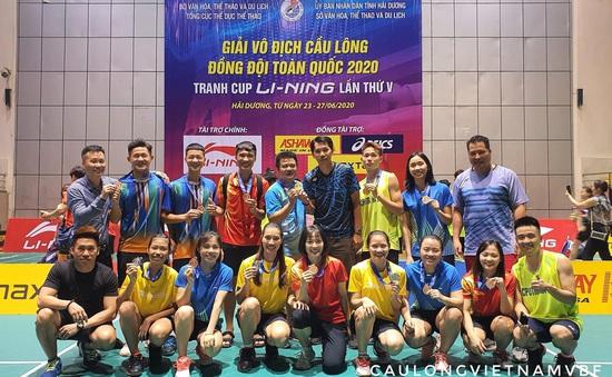 Giải vô địch cầu lông đồng đội toàn quốc và cảm xúc của người trong cuộc