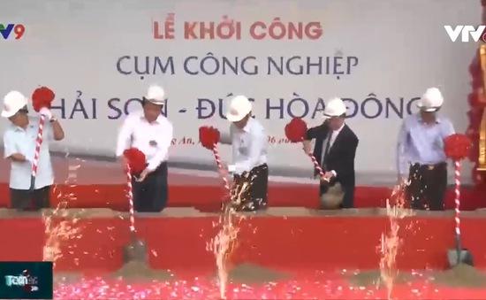 Long An: Khởi công dự án cụm công nghiệp Hải Sơn - Đức Hòa Đông