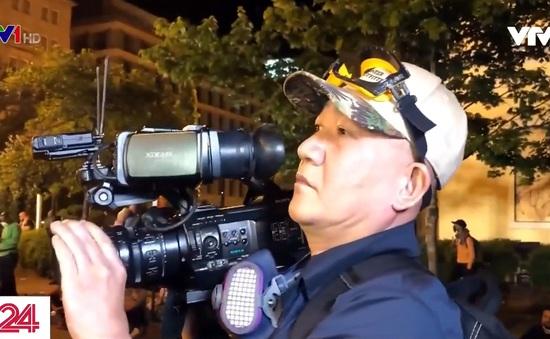 Làm sao để phóng viên tác nghiệp an toàn tại các cuộc biểu tình, bạo động?