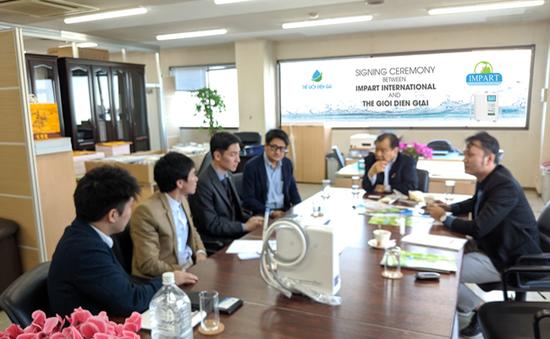 """Impart - """"Ông lớn"""" sản xuất máy lọc nước kangen chính thức vào Việt Nam"""