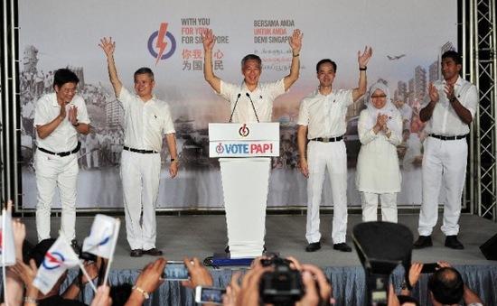 Bầu cử Singapore 2020: Đảng của ông Lý Hiển Long giành thắng lợi