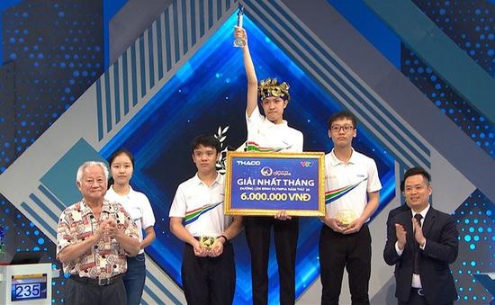 Bằng sự liều lĩnh, nam sinh Bắc Ninh xuất sắc giành vòng nguyệt quế Đường lên đỉnh Olympia