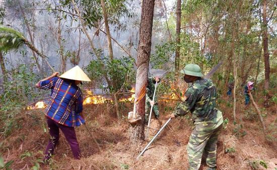 Cháy rừng liên tục ở Nghệ An: Vấn đề từ ý thức đến phòng cháy